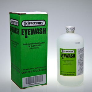 Eyewash Solution, 0.9 L (32 oz.) - Bel-Art - F248790032