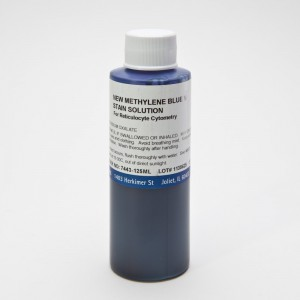 New Methylene Blue N Stain Solution (Reticulocyte Stain) - EK Industries - 7443