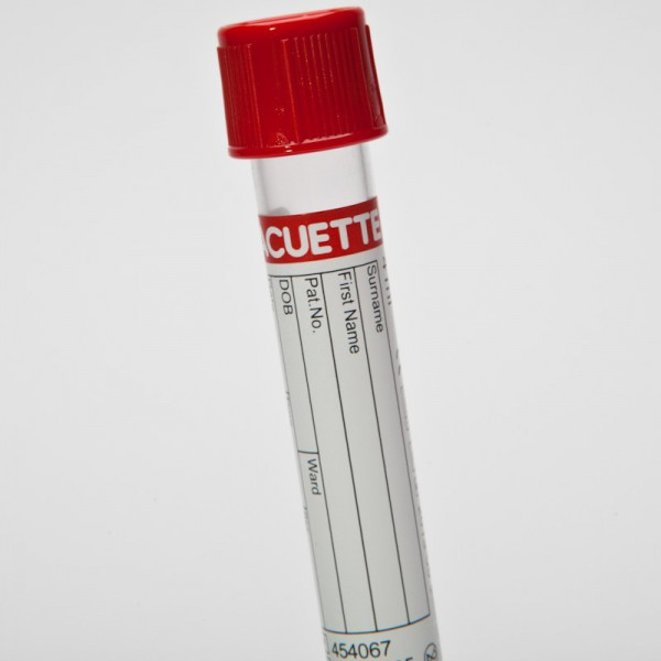 Vacuette Blood Collection Tube Red Cap 4 Ml Greiner 454067 Labnet Supplies