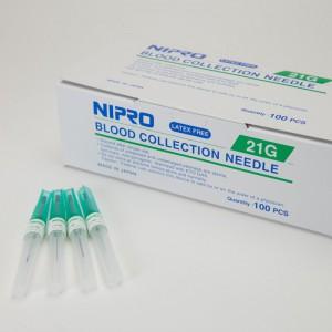 "Nipro Blood Collection Needle, 20gx1-1/2"" - Nipro Medical Corp.- NM+21G25"